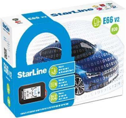 Автосигнализация StarLine E66 v2 BT ECO 2CAN4LIN
