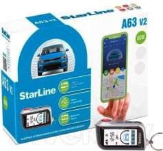 Автосигнализация StarLine A63 2CAN2LIN Eco V2