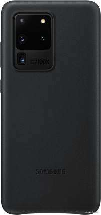 Samsung Leather Cover для Galaxy S20 Ultra (черный)