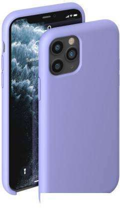 Чехол Deppa Liquid Silicone Case для Apple iPhone 11 Pro (лавандовый)