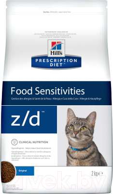 "Корм для кошек Hill""s Prescription Diet Food Sensitivities z/d Original"