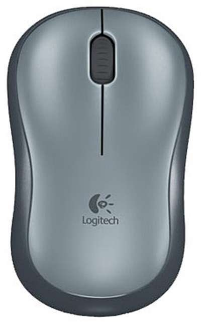 Мыши Logitech Logitech Wireless Mouse M185 Grey-Black USB