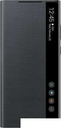 Чехол Samsung Smart Clear View Cover для Galaxy Note 20 (черный)