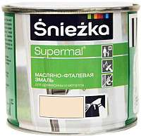 Эмаль Sniezka Supermal масляно-фталевая