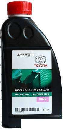 Toyota Super Long Life Coolant PINK 1л