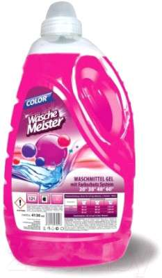 Гель для стирки Wasche Meister Washing gel color