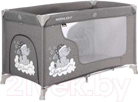 Кровать-манеж Lorelli Moonlight 1 Grey Luxe / 10080392068