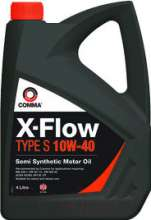 Моторное масло Comma X-Flow Type S 10W40 / XFS4L