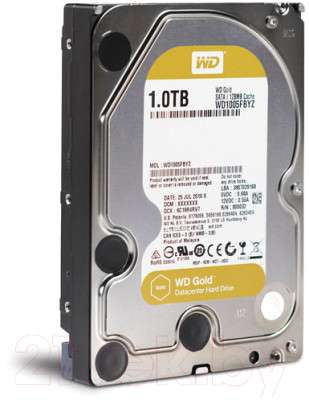 Жесткий диск Western Digital Gold 1TB