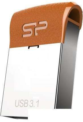 USB Flash Silicon-Power Jewel J35 16GB (серебристый)