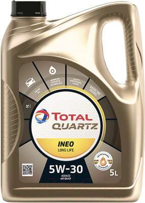 Моторное масло Total Quartz Ineo Long Life 5W30 / 181712 / 213819