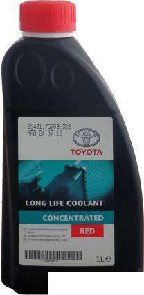 Антифриз Toyota Long Life Coolant Concentrated RED 1л 08889-80015