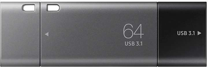 Usb flash накопитель Samsung DUO Plus 64GB (MUF-64DB/APC)