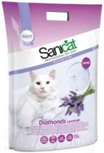 Наполнитель для туалета Sanicat Professional Diamonds Lavender