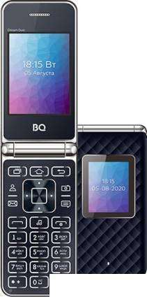 Смартфон BQ-Mobile BQ-2446 Dream Duo (синий)