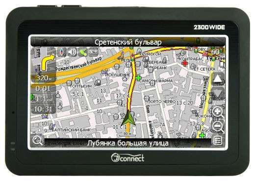2300 WIDE GPS-навигатор JJ-CONNECT