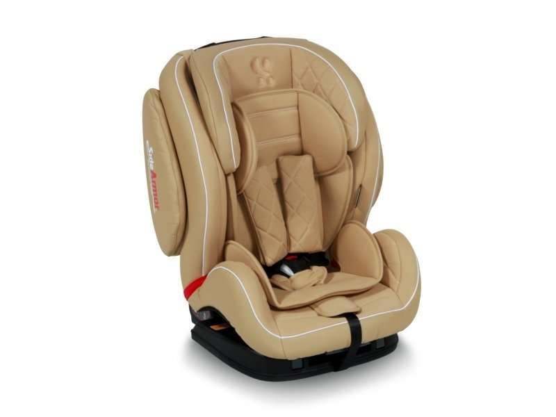 Автокресло Lorelli Mars SPS Isofix 2017 Beige Leather