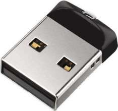 USB Flash SanDisk Cruzer Fit 64GB SDCZ33-064G-G35