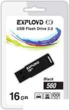 USB Flash Exployd 560 16GB (черный) EX-16GB-560-Black