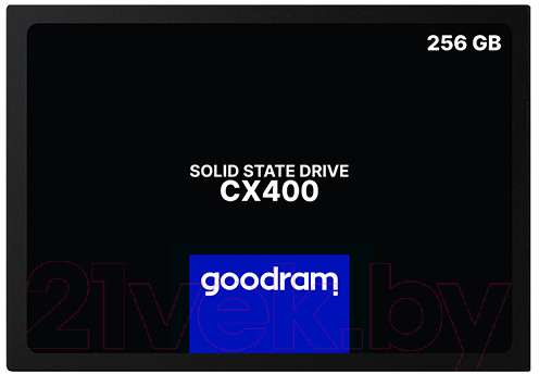 SSD диск Goodram CX400 Gen. 2 256GB (SSDPR-CX400-256-G2)